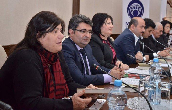 """""""AZƏRBAYCAN ELM VƏ İRFAN SƏRDARLARI"""" KİTABININ TƏQDİMATI"""